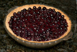 Aunt Hope's Blueberry Pie