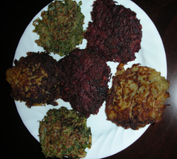 Potato & Veggie Latkes